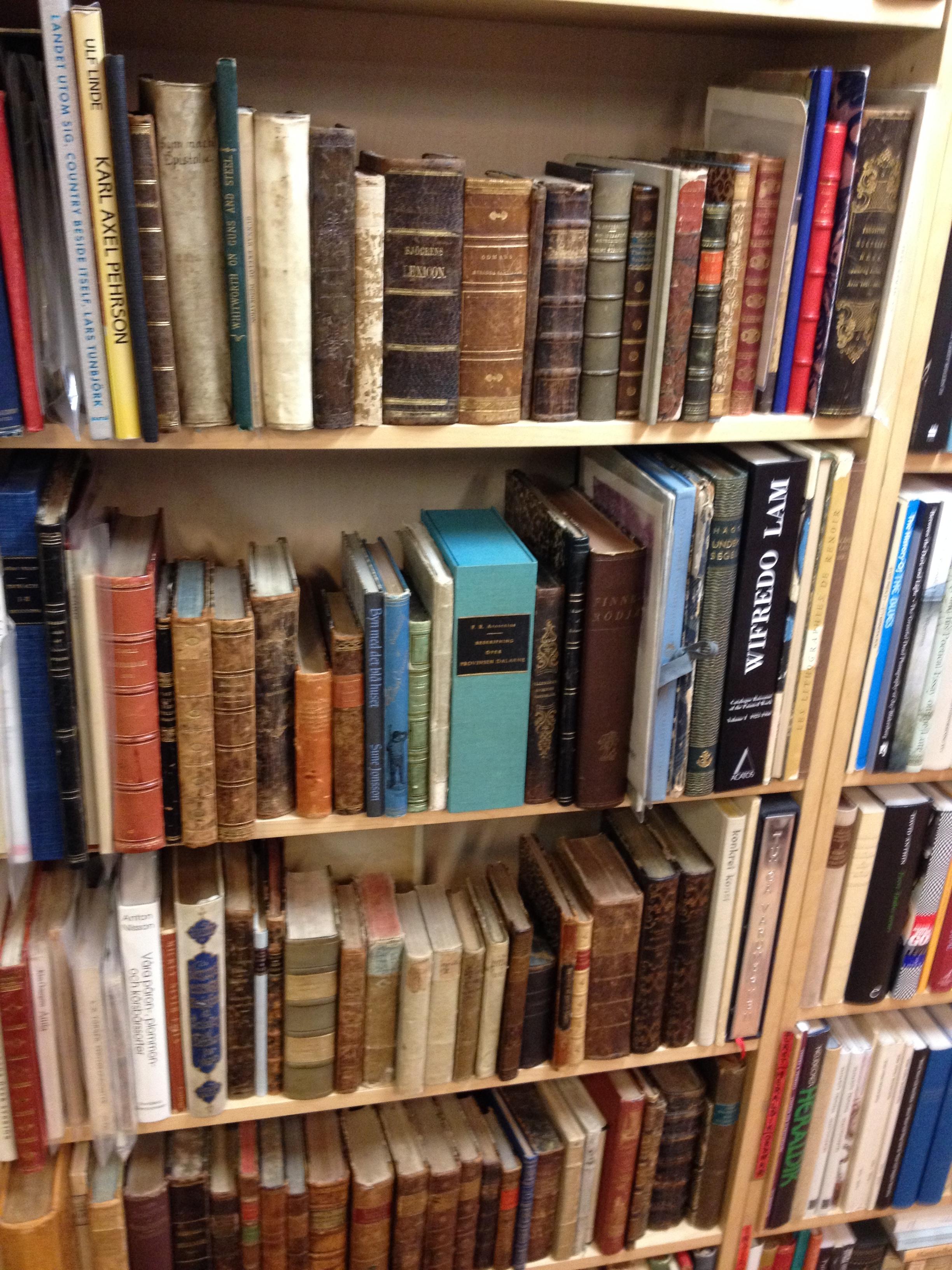 Begagnade böcker köpes